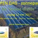 open dag zonnepark